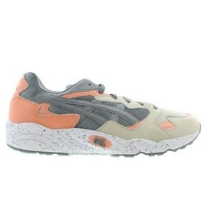 ASICS GEL-DIABLO Gray/Peach Athletic Shoes